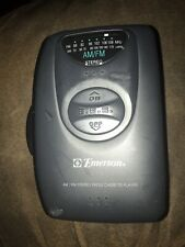 Emerson Am/Fm Stereo Radio Cassette Player Model Hs6046