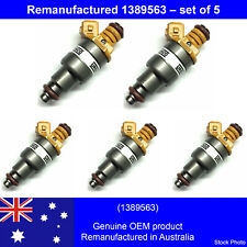 EXCHANGE Reman Genuine injectors 1389563  (5 pcs) for Volvo 850 2.5L  TESTED AND