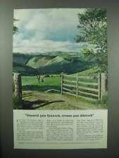 1956 Britain Tourism Ad - Cymric
