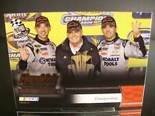 Rare Jimmie Johnson Hendrick Motorsports Press Pass 2009 Card #193 CHAMPIONSHIPS