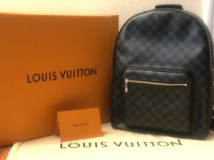 NEW Louis Vuitton Josh Backpack in Damier Graphite Canvas