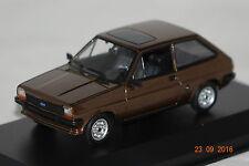 Ford fiesta 1976, marrón metalizado 1:43 maxichamps Minichamps nuevo & OVP 940085101