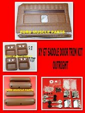 FORD FALCON XY GT GS SADDLE DOOR TRIM INTERIOR  KIT OUTRIGHT NO EXCHANGE NEEDED