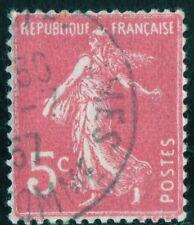 "TIMBRE FRANCE  N°278B ""TYPE SEMEUSE FOND PLEIN, 5 C"" OBLITÉRÉ TB"