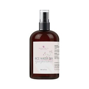 Rice water mix moisture mist spray 8 oz non-gmo hair skin hydrate nourish soften
