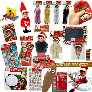 NAUGHTY ELF PROPS CHRISTMAS ACTIVITY IDEAS PROPS TOYS GAMES CLOTHING DECORATION