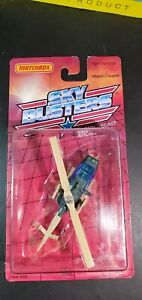 1988 MATCHBOX SKYBUSTERS SB-12 MILITARY MISSION CHOPPER 1:187 5+ Boys Diecast