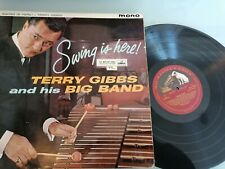 Terry Gibbs Big Band – Swing Is Here LP Vinyl UK Jazz