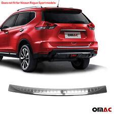 Fits Nissan Rogue 2017 2020 Chrome Rear Bumper Guard Trunk Sill Protector Steel
