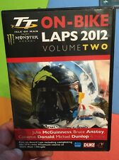 TT Isle Of Man 2012 On-Bike Laps Vol. 2(UK DVD)John McGuiness Bruce Anstey