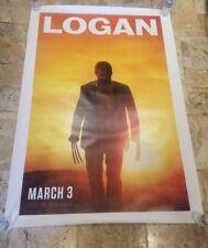 """LOGAN"" BUS SHELTER POSTER 4'X6' HUGH JACKMAN ORIGINAL AUTHENTIC"