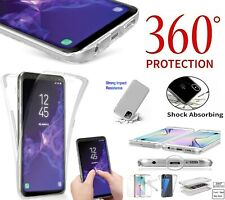 For Samsung Galaxy Note 10 Lite 360° Clear Front Back Gel PC Hard Case Cover UK