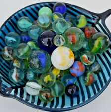 SET OF OVER 50 MARBLES - ALL SIZES & COLOURS!