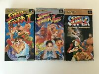 Lot Street Fighter 2 turbo SUPER SFC Super Famicom Japan NTSC-J SNES Tested Work