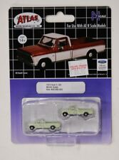 N Scale Atlas 60000093 * 1973 Ford F-100, Winter Green * Pkg. 2