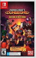 Minecraft Dungeons -- Hero Edition (Nintendo Switch, 2020)