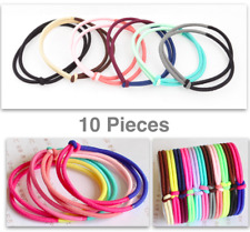 10 Pcs Hair Lacky Hair Ties Hair Styling Accessories Hair Tie Band Girls Kids