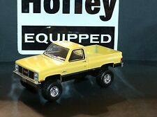 1987 GMC HIGH SIERRA 1/64 SCALE COLLECTIBLE LIMITED EDITION 4X4 PICK UP TRUCK