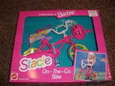 Vintage Barbie Stacie Bike On The Go Playset 67004 Bicycle 1993 Arco Toy NRFB