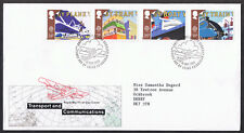 Transport and Communications 1988 First Day Cover SG1392 to SG1395 Edinburgh