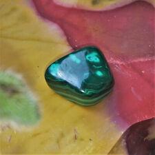 Malachit Trommelstein Malachite Edelsteine Nr.6A Mineraliensammlung Edelsteine