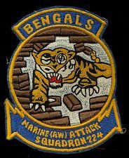 USMC Marine (AW) Attack Squadron 224 VMA(AW)-224 Patch S-10