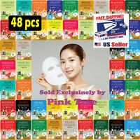 48 pcs Korean Ultra Hydrating Essence Mask Pack , Korean Facial Mask Sheets