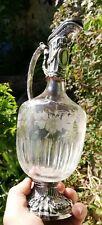 Aiguière Cristal Ancienne 19é .