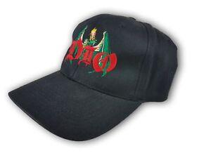 Dio Killing The Dragon World Tour 2002 Black Cap Hat Snapback 100% Cotton