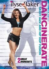 DANCINERATE SASSY JAZZ HIP HOP FUSION DANCE WORKOUT DVD ILYSE BAKER NEW SEALED
