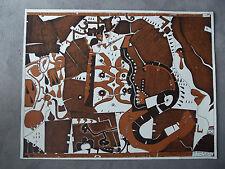 HORST JANSSEN - HANDSIGNIERT - 2. Laatzer Bilderbogen - 1969 - Strichätzung