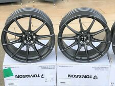 4 neue Alu Tomason TN25 matt graphit 8,5x19 5-112 ET45 Audi A3 8P 8V S3 RS3