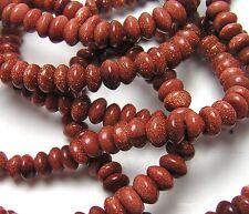"""15.5"""" Str GOLDSTONE 6mm  Rondelle Beads"""