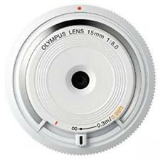 OLYMPUS Body Cap Lens for Micro Four Thirds White BCL-1580  WHT