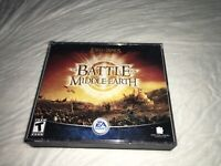 Lord Of The Rings Battle For Middle Earth PC W/key Code EA Games Free Shipping