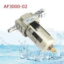 AF3000-02 1/4'' Particulate Air Filter Water Trap Regulator Separator Compressor