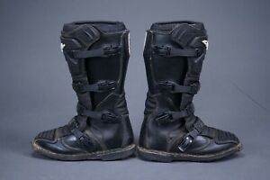 ONEAL ELEMENT MX MOTORCYCLE BLACK OFFROADING BIKE BOOTS MENS EU 41 US 8