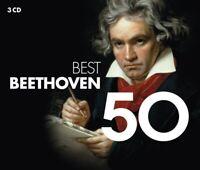 50 BEST BEETHOVEN  50 BEST 3 CD NEU BEETHOVEN,LUDWIG VAN