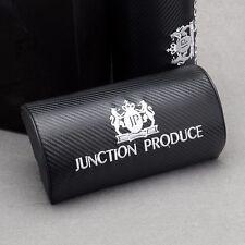 2pcs Carbon Fiber JP Junction Produce Car Headrest Neck Pillow Seat Lexus