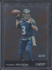 RUSSELL WILSON 2015 PANINI CLEAR VISION BRONZE PARALLEL SSP RARE CASE HIT #51