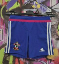 Southampton Fc Football Soccer Training Shorts Adidas 2015 Kids Boys 7-8 Years
