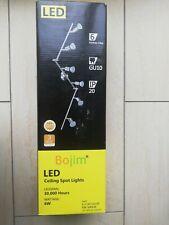 Bojim Plafonnier LED 6 Spots Orientables 6 X Ampoules GU10 6W 2800k Blanc