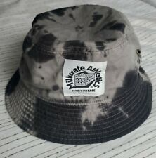 MILKCRATE ATHLETICS NYC SURFACE DIVISION GREY & BLACK BUCKET HAT  (NEW)