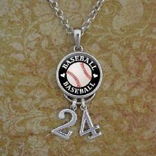 Baseball  Number Necklace/ custom
