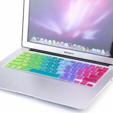 Silicone Keyboard Cover For Macbook Pro Air 13 Rainbow Laptop Keyboard Stickers
