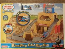 Thomas & Friends Rumbling Gold Mine Run Turn and Play Set Train New Seal Package