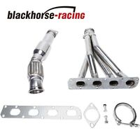 STAINLESS STEEL HEADER+FLEX DOWNPIPE FOR 04-07 COBALT 2.0 LSJ EXHAUST/MANIFOLD