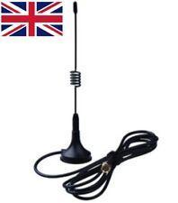 433MHz antenna magmount base 5dB SMA male connector - UK Seller