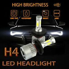 2X H4 9003 HB2 200W 20000LM LED Headlight Kit White Light Bulbs High low Beam