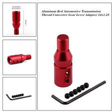Car Aluminum Automotive Transmission Thread Converter Gear Lever Adapter 12x1.25